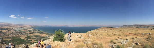 Panoramic view from Arbel