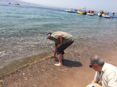 Getting water from the Red Sea
