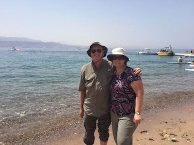 On the shores of the Red Sea