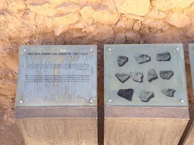 Seemingly the lots that were drawn to determine who would be the last to die at Masada